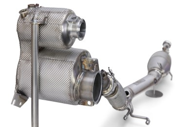 Exhaust system: Bosch actively regulates the exhaust-gas temperature, thereby ensuring that the exhaust system stays hot enough to function within a stable temperature range and that emissions remain at a low level.
