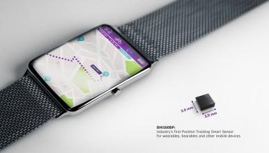 Branchenweit erster Position Tracking Smart Sensor BHI160BP für Wearables