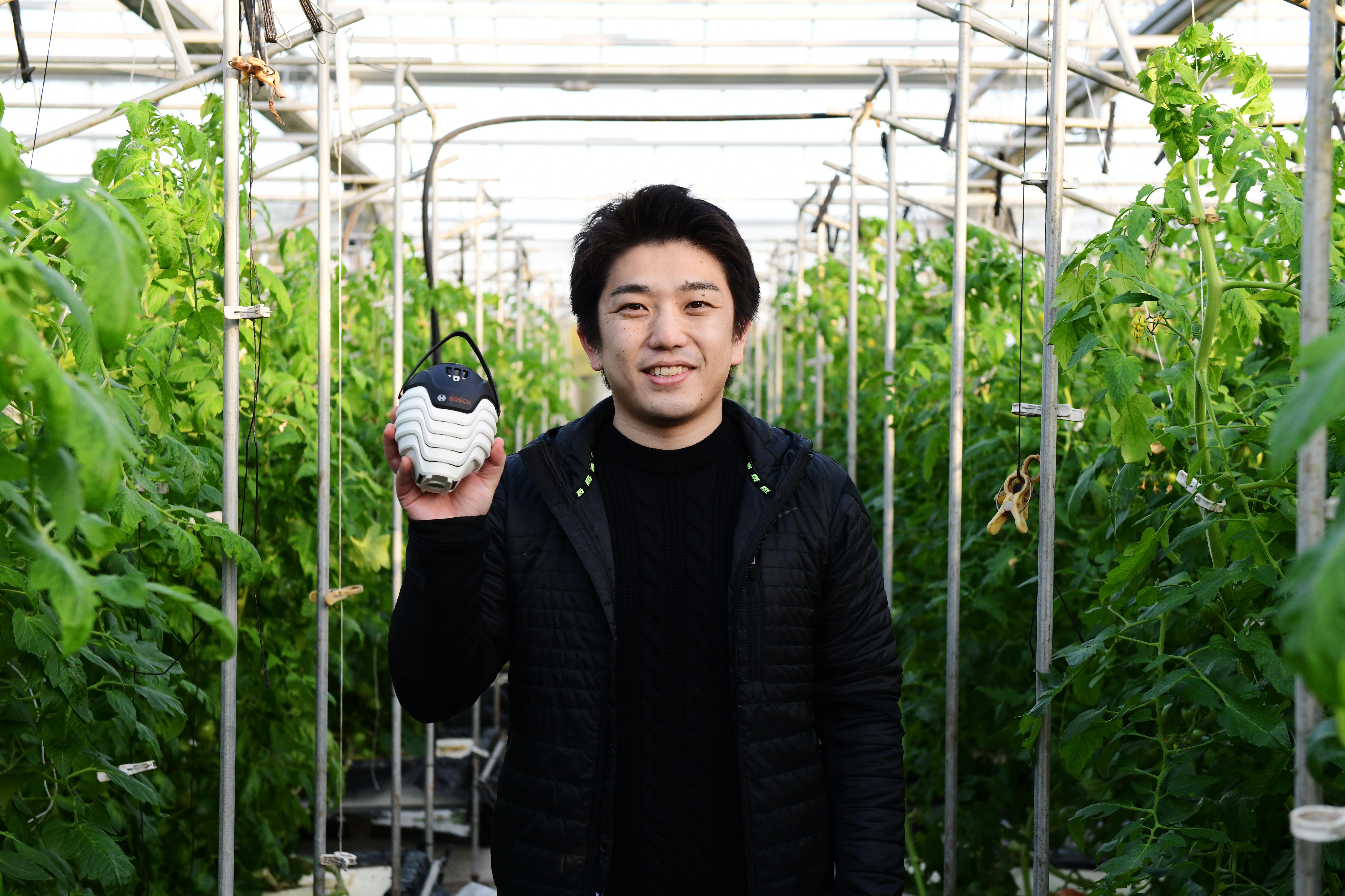 Projektleiter Ryosuke Suzuki