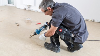 Longer lifetime, improved ergonomics: New hot air gun generation from Bosch for professionals