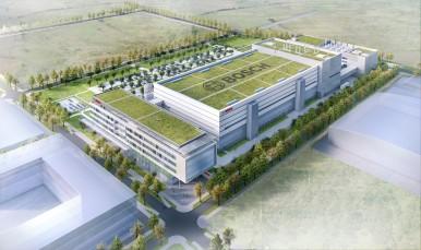 Schlüsseltechnologie für das Internet der Dinge: Bosch legt Grundstein für Chipfabrik der Zukunft