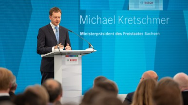 Michael Kretschmer, the Minister-President of the state of Saxony.