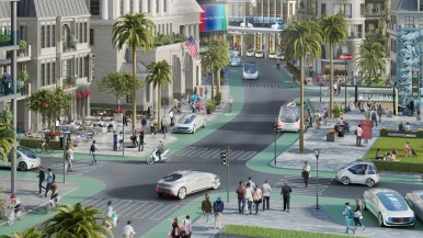 Bosch and Daimler: Metropolis in California  to become a pilot city for automated driving