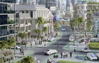 Metropolis in California to become a pilot city for automated driving