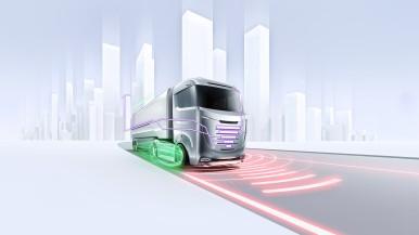 Automatisiert, vernetzt und elektrifiziert:  Bosch geht neue Wege im Güterverkehr