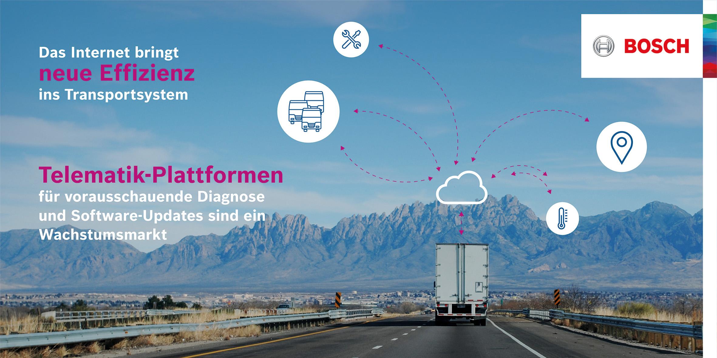 Vernetzte Logistiklösungen vom Highway bis zur Haustür