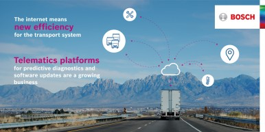 Digitally connected logistics solutions, from freeway to front door