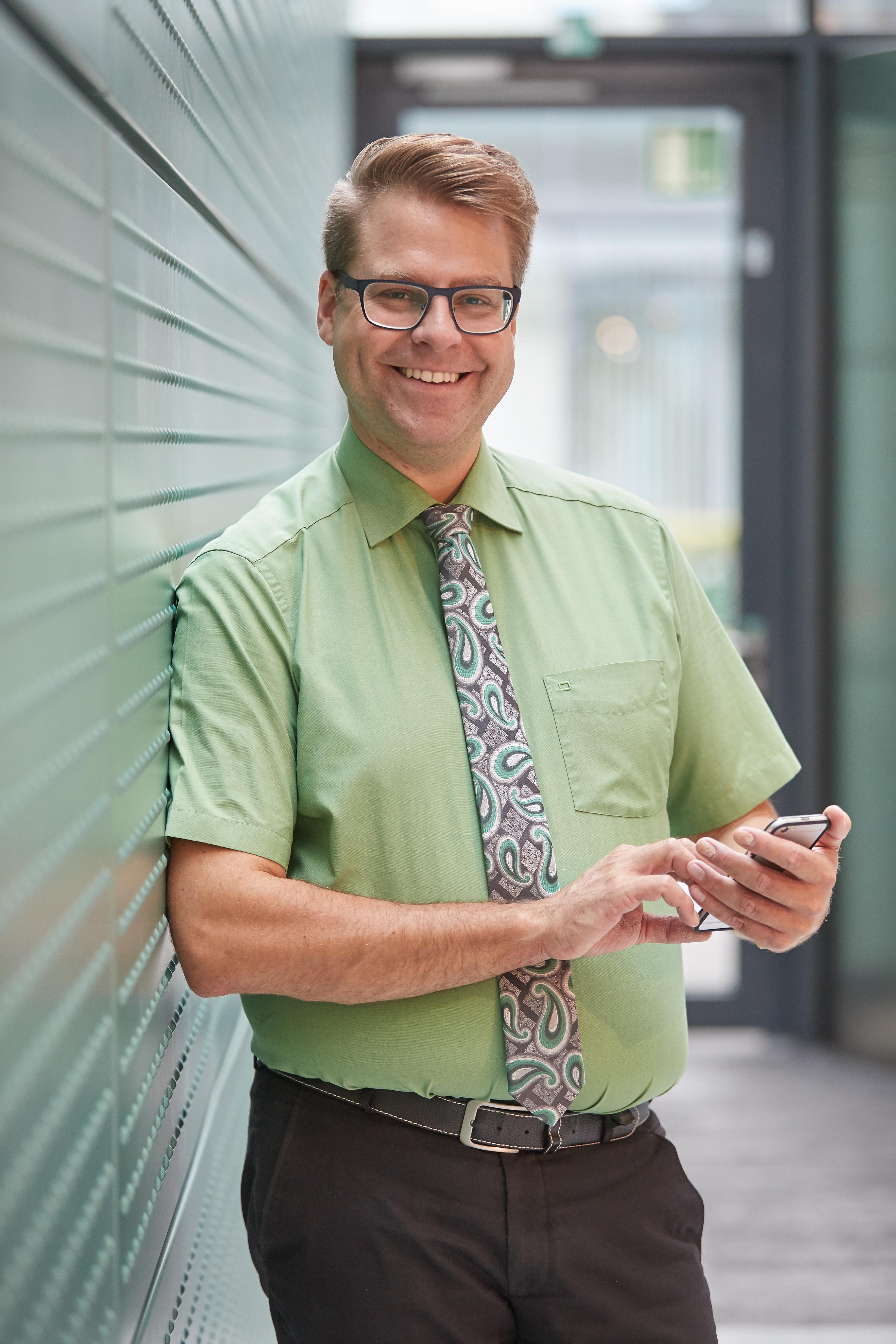 Mathias Reimann - spokesperson for the LGBTI network