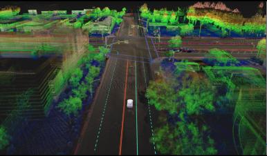 DeepMap visualisation of local Intersection