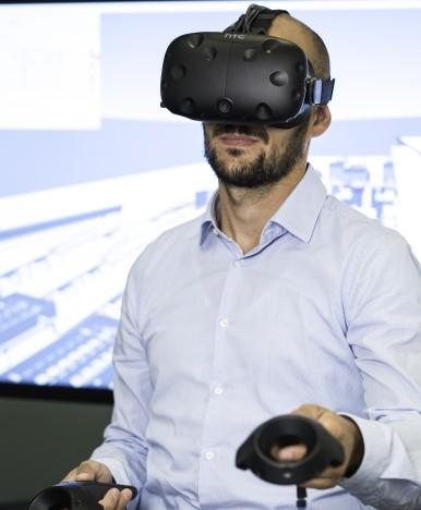 "Neues VR Planungswerkzeug ""Virtual Layout"""