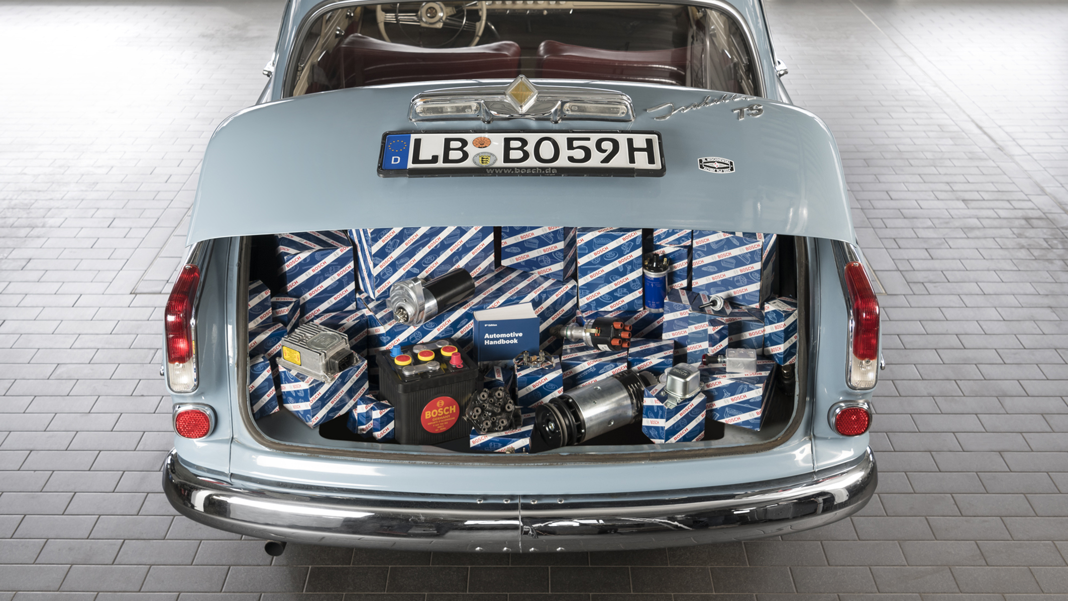 Bosch Classic ensures sustainable spare-parts supply for modern-era