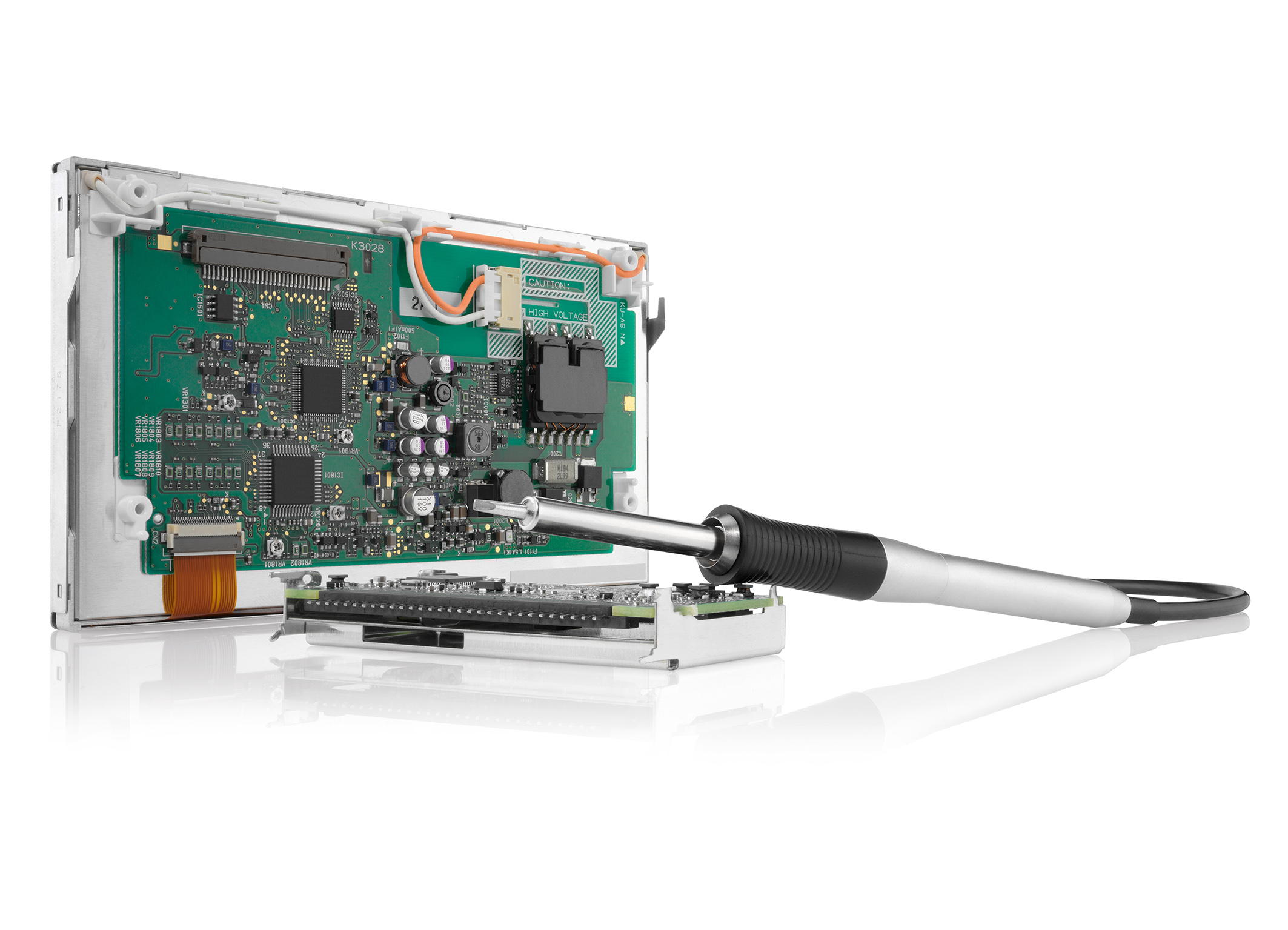 Der Bosch Electronic Service bietet Remanufacturing und Reparatur von elektronischen Komponenten und Steuergeräten.