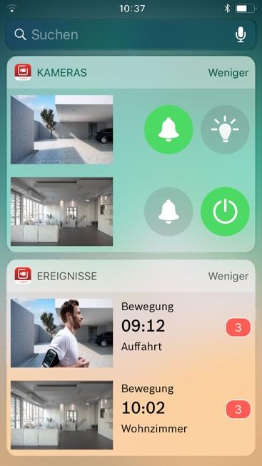 Bosch Smart Home Smart Camera App