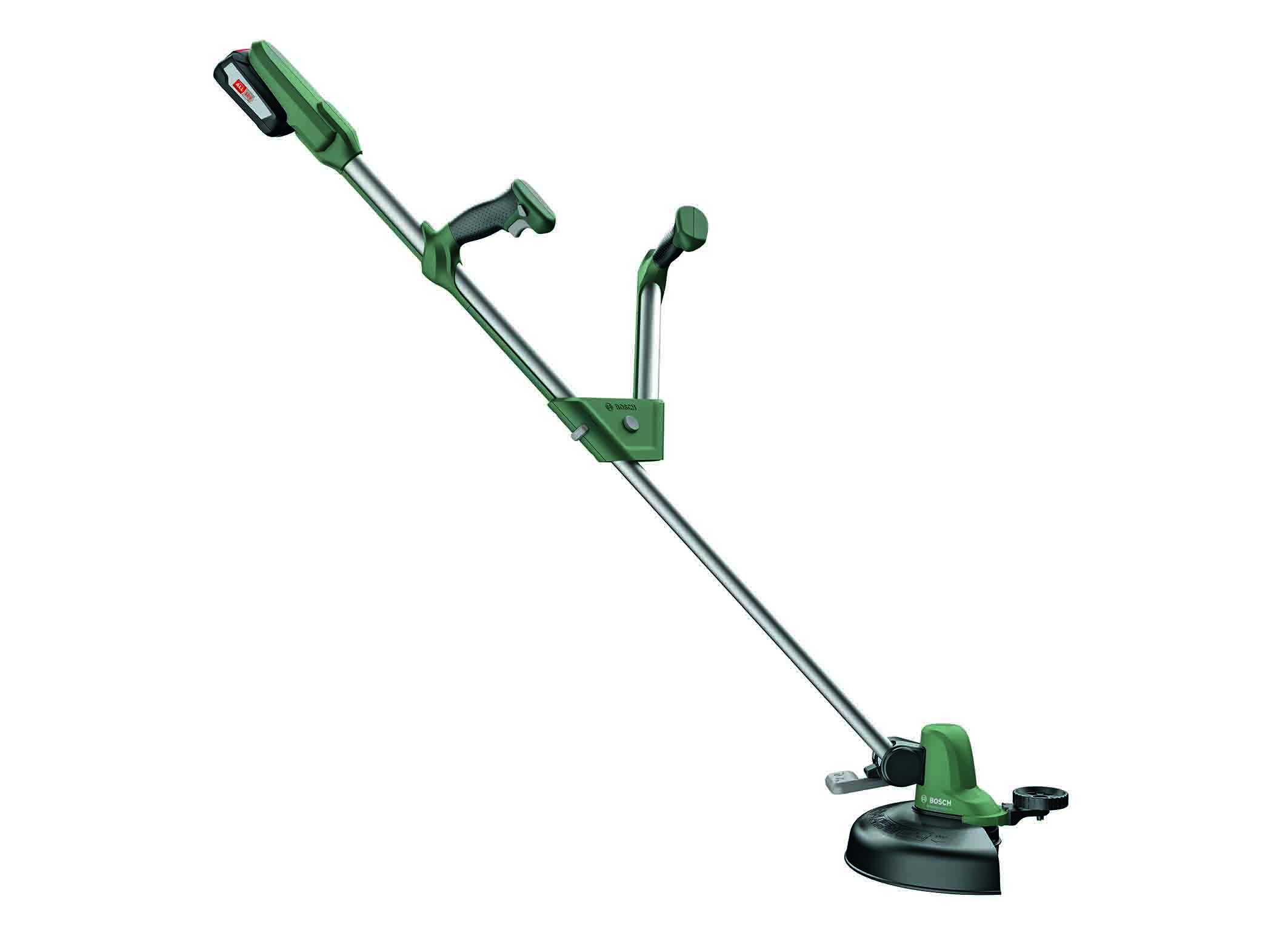The new 18 volt trimmers from Bosch: UniversalGrassCut 18 for medium-sized gardens