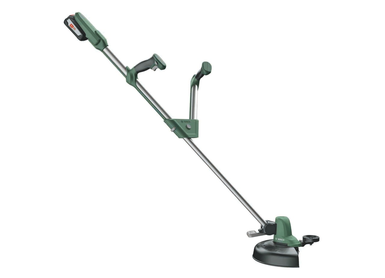 the new 18 volt trimmers from bosch: universalgrasscut 18 for medium