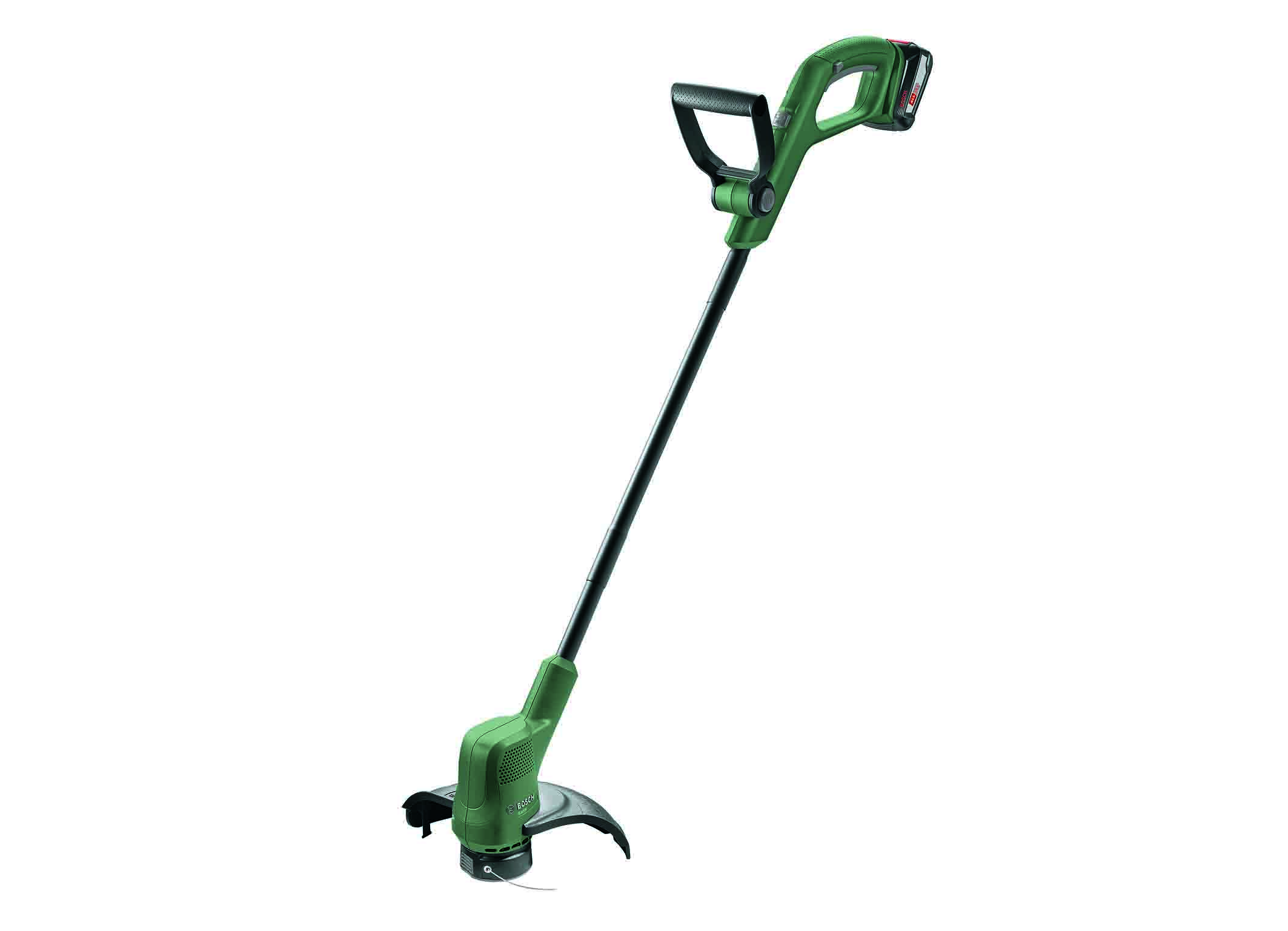 The new 18 volt trimmers from Bosch: EasyGrassCut 18 for smaller gardens