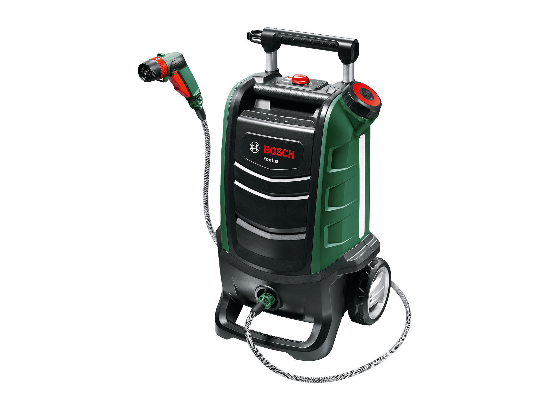 Easy cleaning without power and water supply: Fontus cordless low-pressure cleaner from Bosch