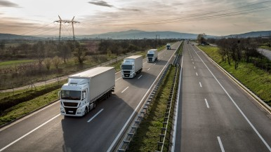 More road freight,  less impact on the environment and road network: Bosch is enhancing the utility of commercial vehicles