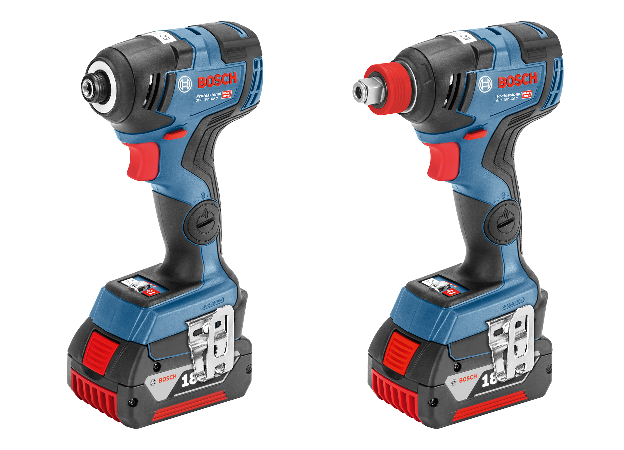 More powerful with an even more compact size: New cordless impact drivers from Bosch for professionals
