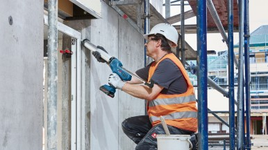 Apply with control, work with speed: First Bosch cordless caulking gun for professionals