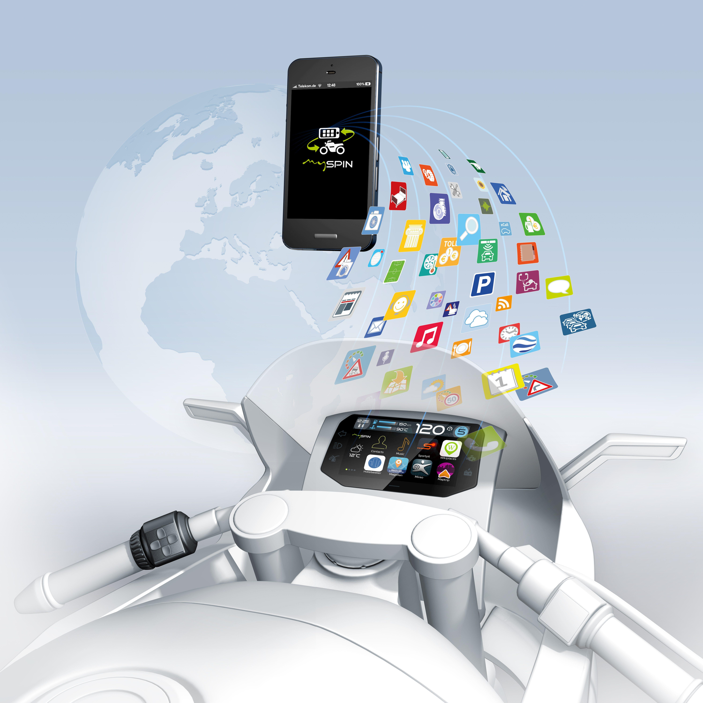 Smartphone-Integration mySPIN