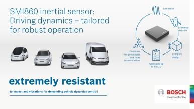 New SMI860 inertial sensor