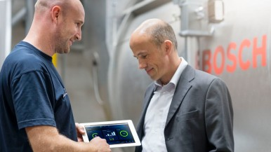 Smart steam boiler technology from Bosch