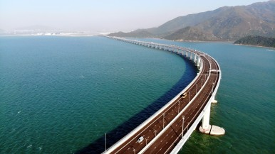 Bosch equips Hong Kong-Zhuhai-Macao Bridge with customized security solutions