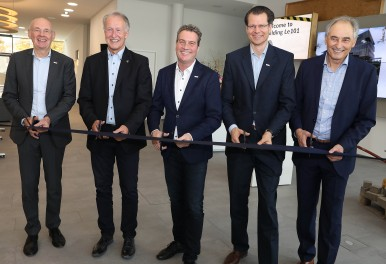 Bosch Power Tools opens new office building: Inauguration ceremony in Leinfelden