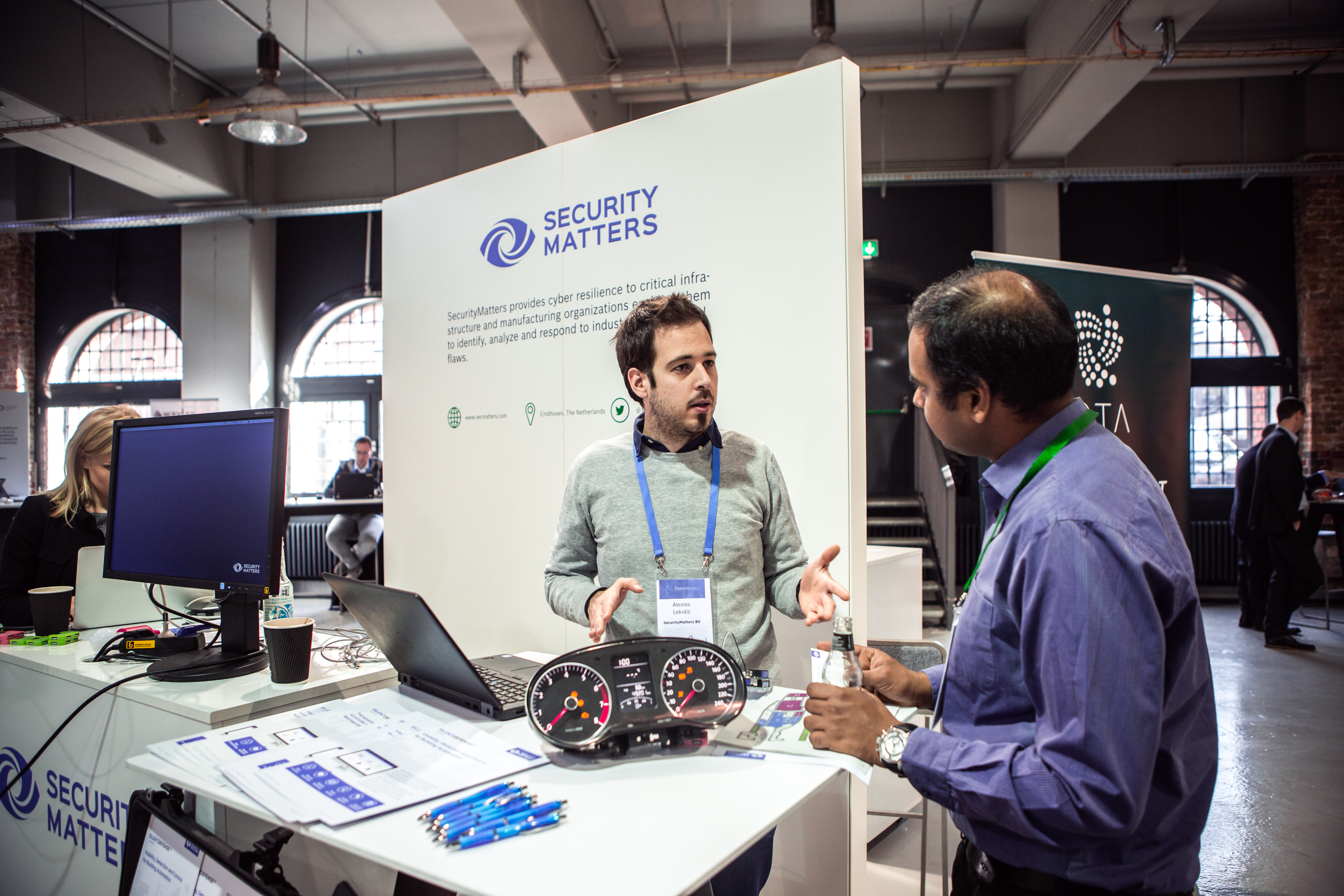 SecurityMatters exhibiting at the BoschConnectedWorld 2018