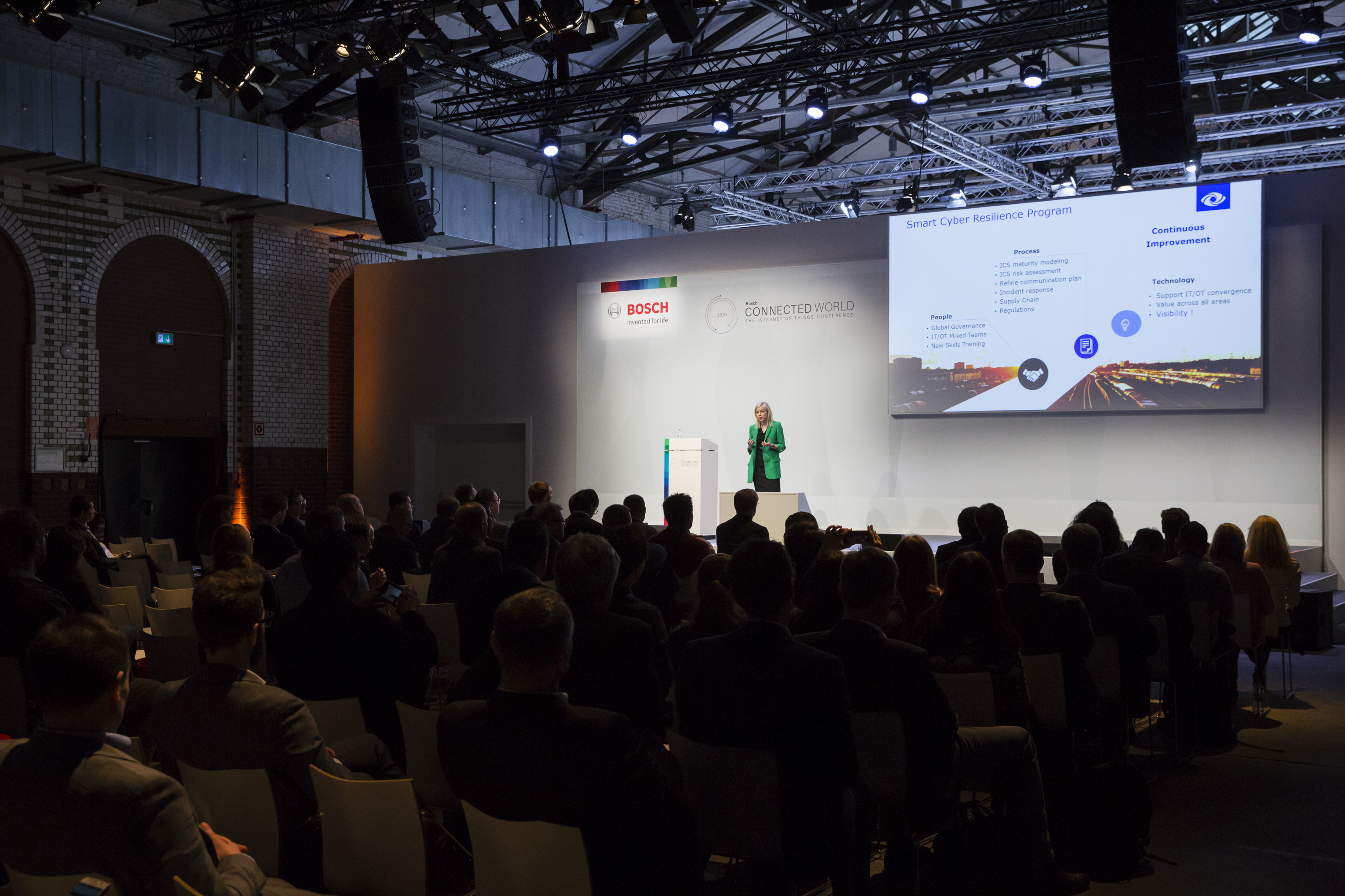 SecurityMatters presenting at the Bosch ConnectedWorld 2018
