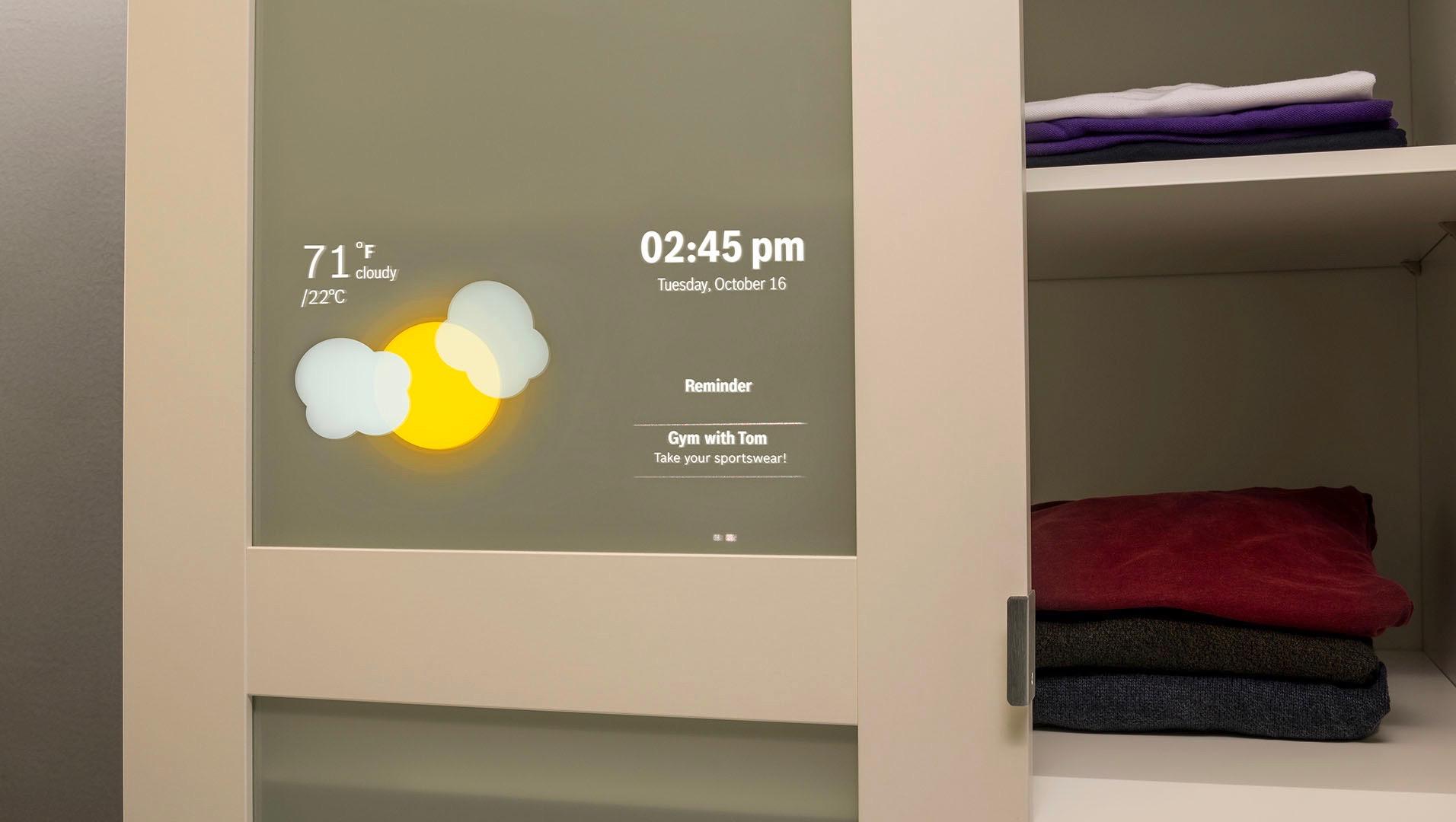 Regal wird zum persönlichen Assistenten im Smart Home