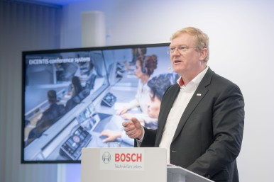 Dr. Stefan Hartung looking back on 2018 for the Bosch Energy and Building Technology business sector