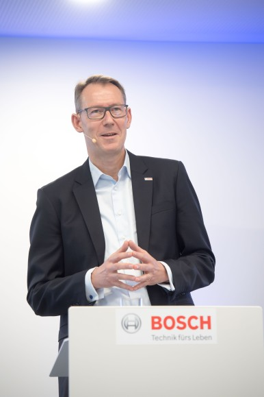 Dr. Christian Fischer new Member of the Board of Management of the Bosch Group