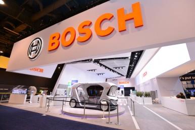 Bosch-Stand auf der CES 2019: Central Hall, #14020 / Twitter #BoschCES