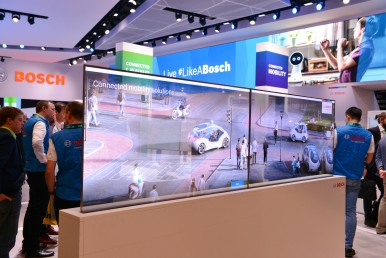 Bosch präsentiert auf der CES 2019 vernetzte Lösungen für die Mobilität und das Zuhause von Morgen