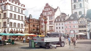 Bosch setzt Warentransport unter Strom