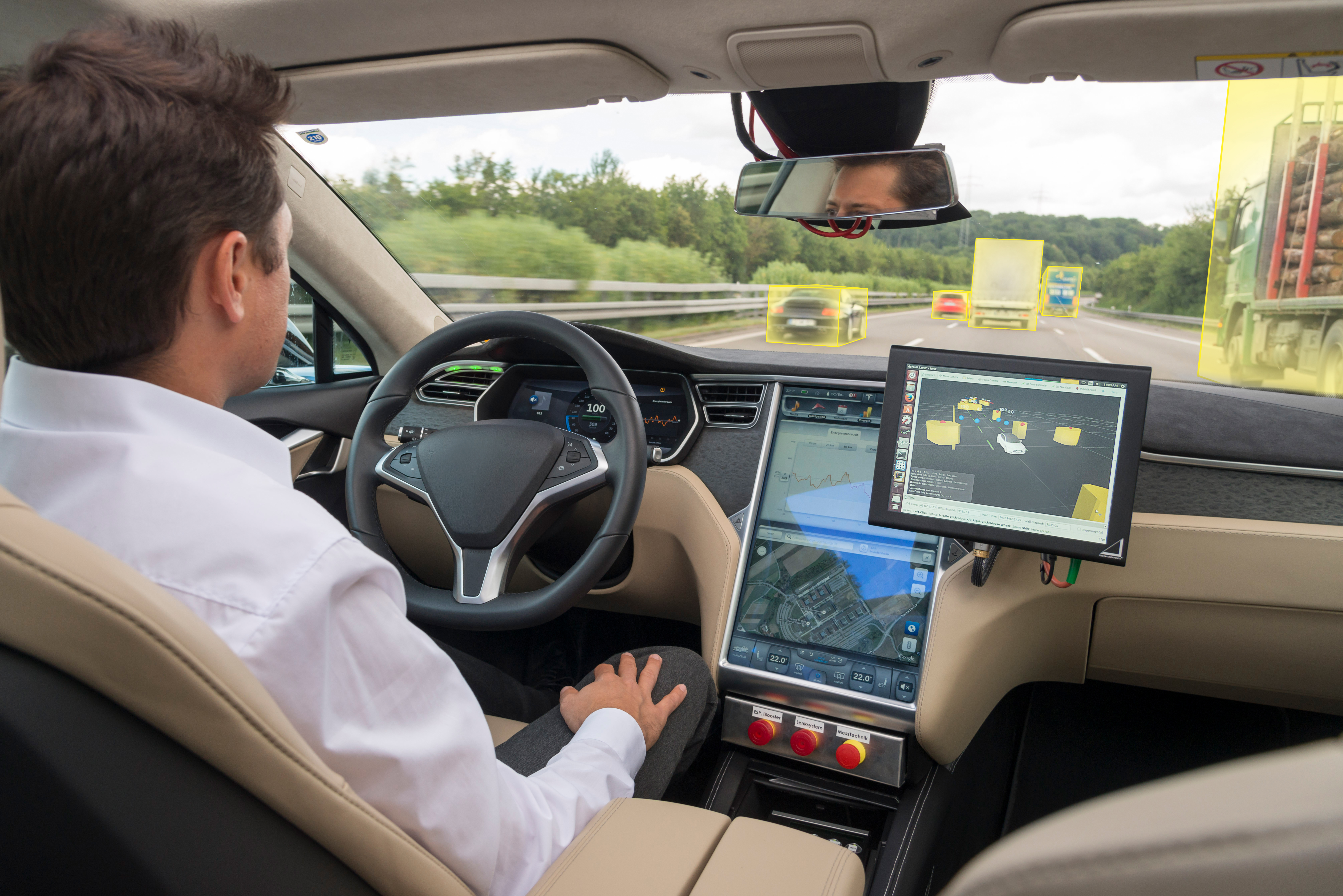 Automated driving: upfront investments worth 4 billion euros