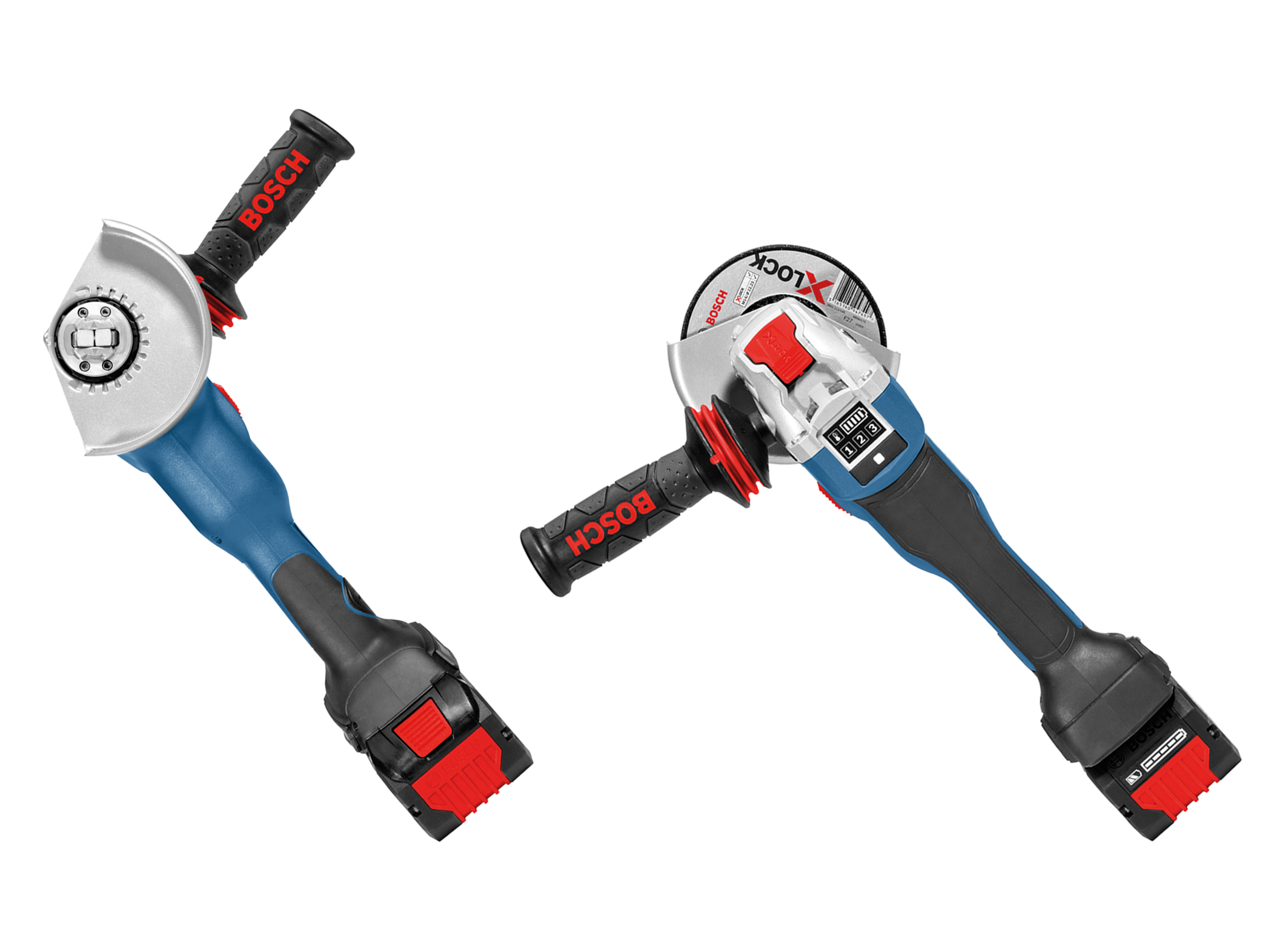 The easiest accessory-change system for angle grinders: X-Lock – a world first from Bosch for professionals