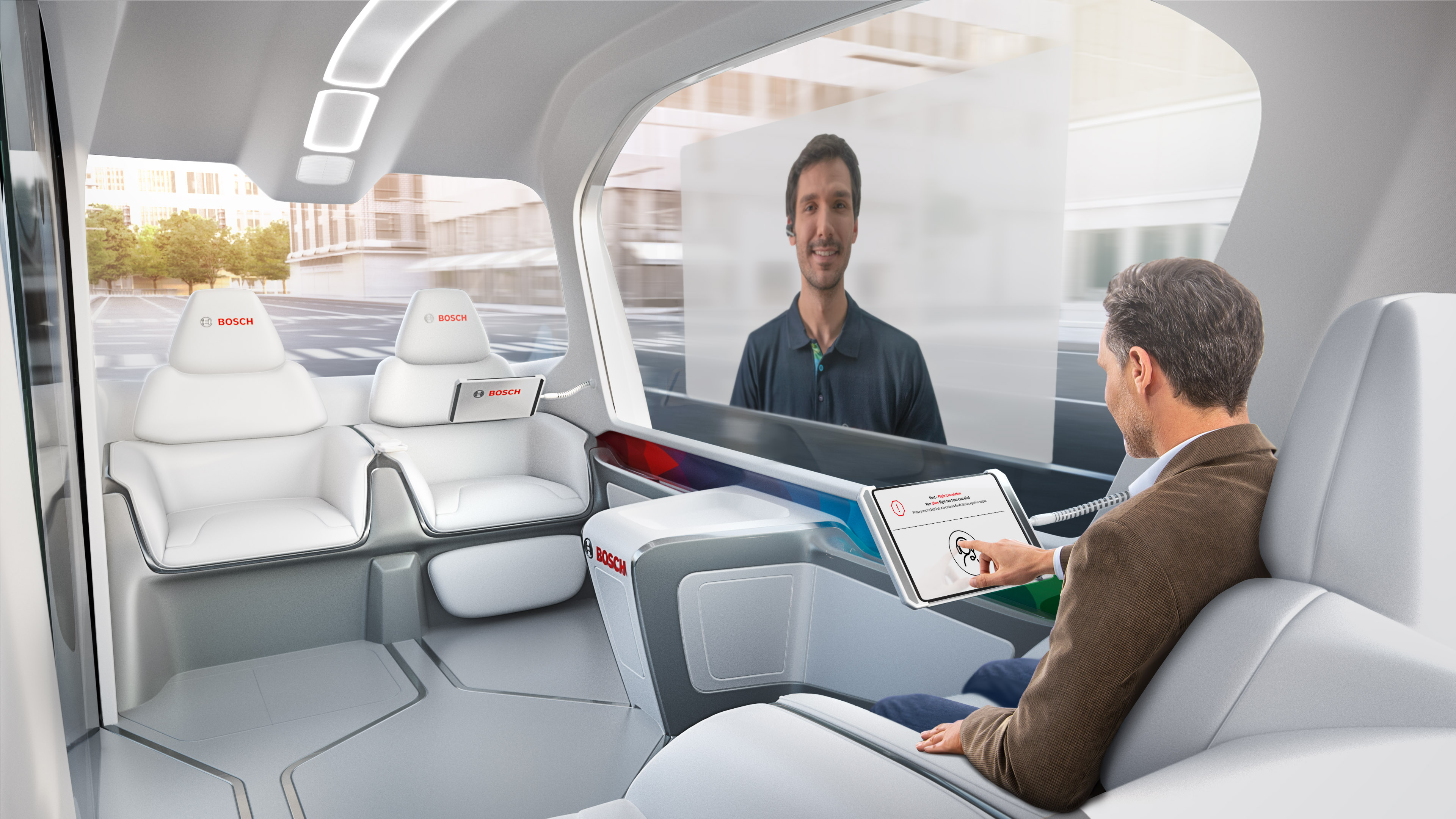 Mobility services from Bosch for a comfortable interior