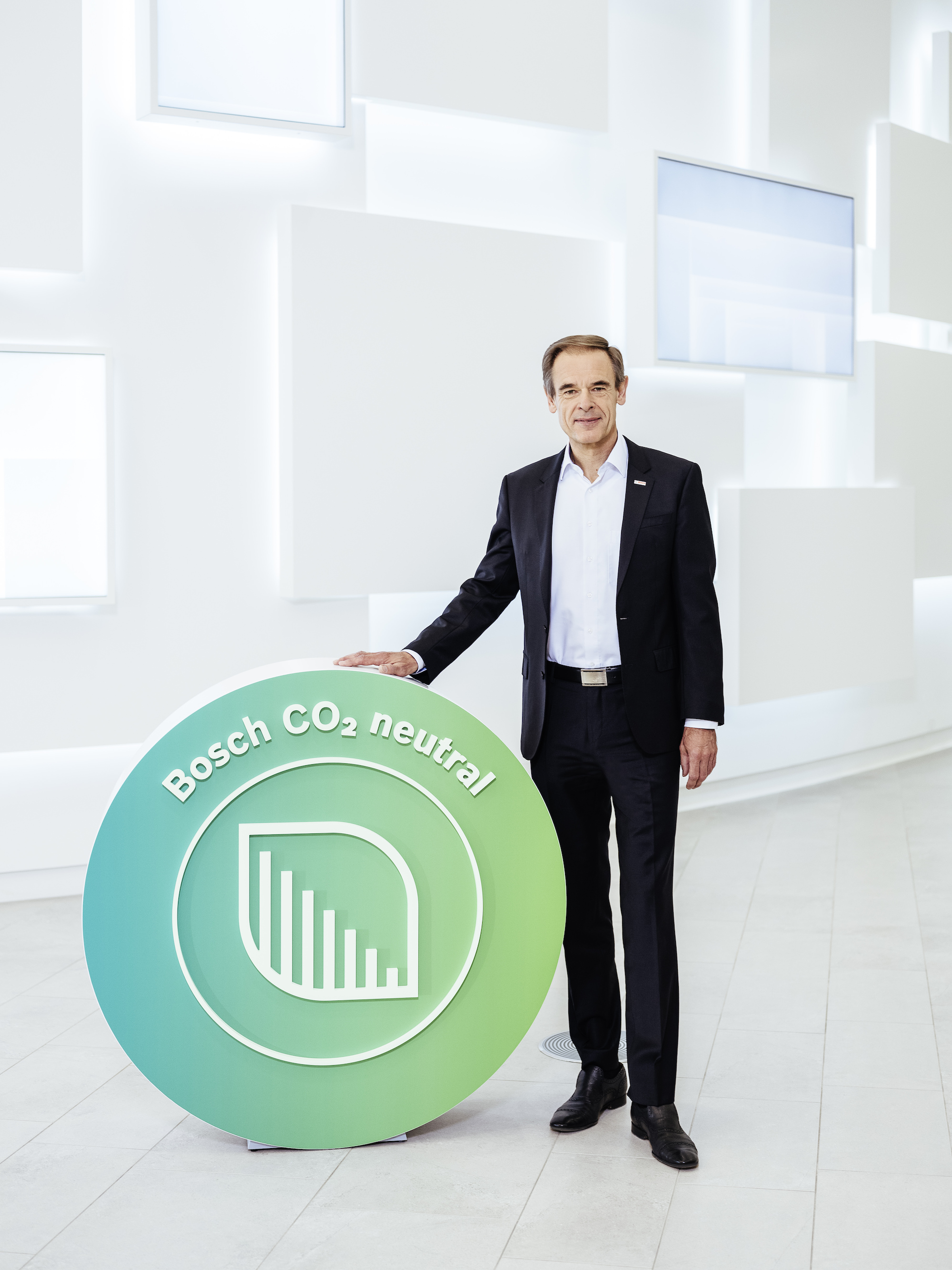Annual press conference 2019: Bosch to be carbon neutral worldwide by 2020