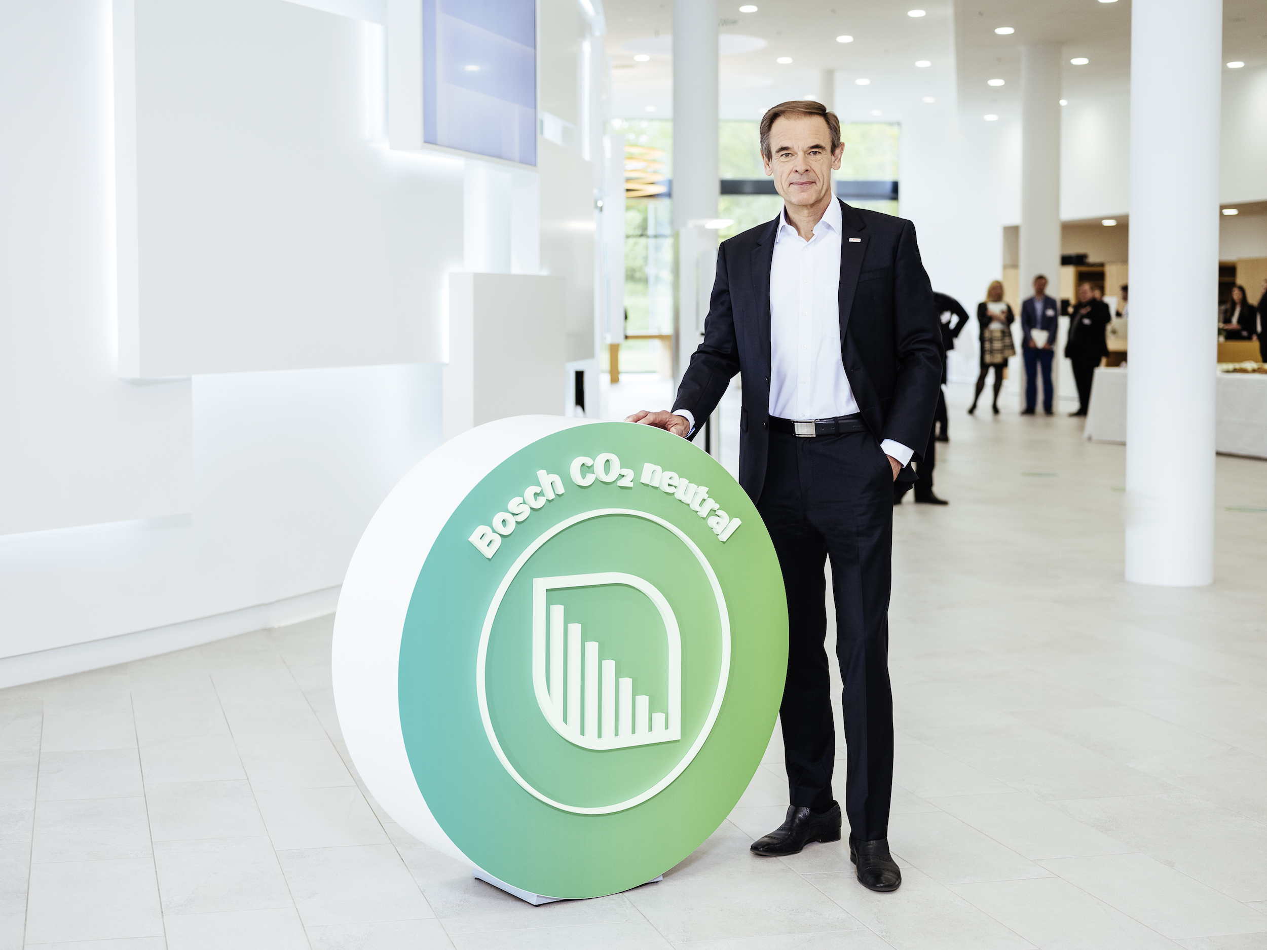 Bilanzpressekonferenz 2019: Bosch ab 2020 weltweit CO₂-neutral