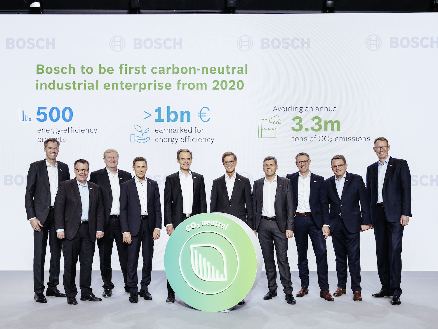 Annual press conference 2019: Board of Management of Robert Bosch GmbH