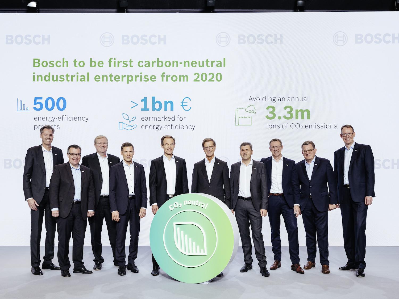 Bilanzpressekonferenz 2019: Die Geschäftsführung der Robert Bosch GmbH