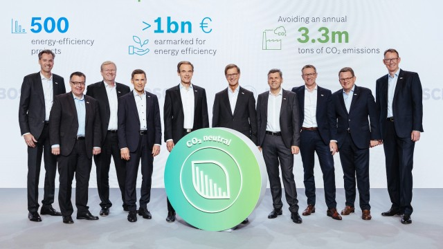 Bosch investiert Milliarden in Klimaschutz und Luftqualität