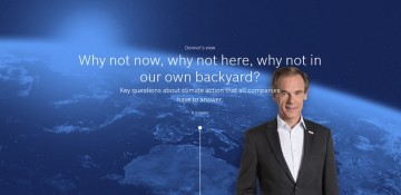 Dr. Volkmar Denner addresses three key questions on climate action that all companies have to answer.