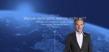 Bosch Dr. Volkmar Denner - Leitfragen zum Klimaschutz