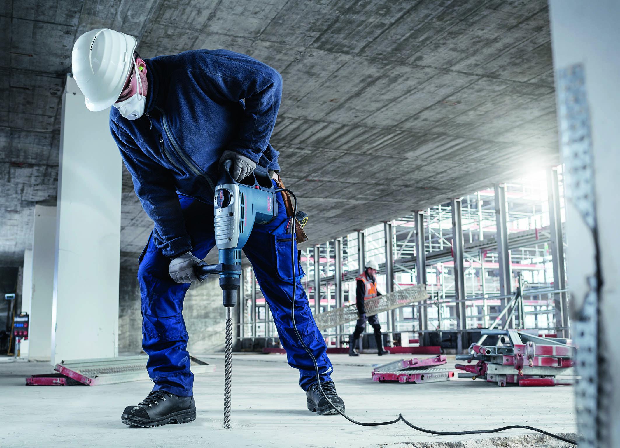 Hohe Bohreffizienz und breites Anwendungsspektrum: Bosch Vier-Schneiden-Hammerbohrer SDS max-8X