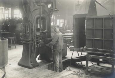 Bosch Metallwerk in Feuerbach, 1923