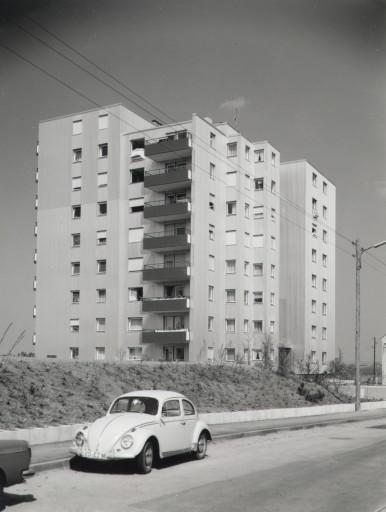 Bosch SIGE Wohnhochhaus in Gerlingen bei Stuttgart, 1971